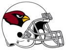 Arizona Cardinals helmet rightface