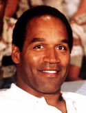 A picture of O.J. Simpson posing.