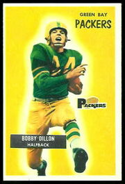 122 Bobby Dillon football card