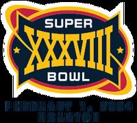 Super Bowl XXXVIII svg