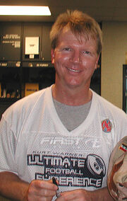 Phil Simms at Rams Park 2004-10-07