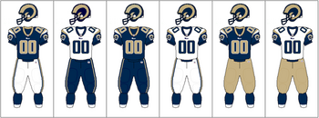 NFCW-Uniform-jersey pants combination-STL