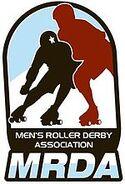 Men's Roller Derby Association (logo)
