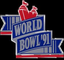 World Bowl 91 logo