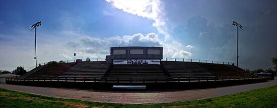 KWU stadium bleachers wide 1