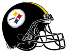 Pittsburgh Steelers helmet rightface