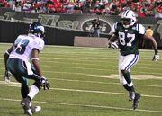 David Clowney Jets-v-Eagles, Sep 2009 - 23