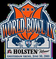 World Bowl IX logo