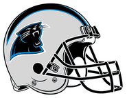 Carolina Panthers helmet rightface