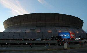 Superdome Sunset