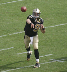 Drew Brees Saints 2008