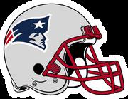 New England Patriots helmet rightface
