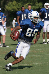 Marvin Harrison in 2007 Training Camp 2