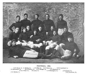 Princeton football team, 1880