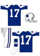Cowboys blue uniform 1960