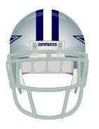 Dallas Cowboys helmet Front