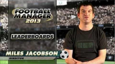 Football Manager 2013 Video Blogs Leaderboards (English version)
