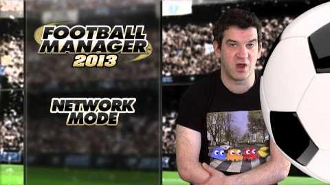 Football Manager 2013 Video Blogs Network Game (English version)