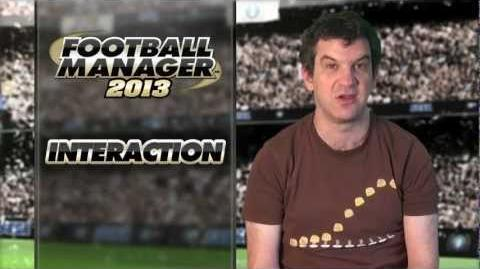 Football Manager 2013 Video Blogs Interaction (English version)