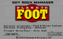 Guy Roux Manager TitleScreen