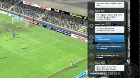 Football Manager 2013 Video Blogs Match Day (English version)