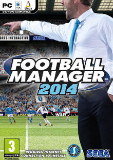 Football Manager 2014 cover