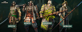 For Honor Orochi Kensei Shugoki Nobushi