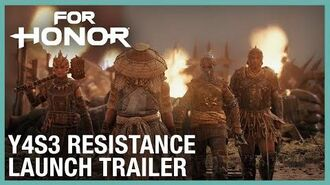 For Honor- Year 4 Season 3 Resistance Launch - Trailer - Ubisoft -NA-