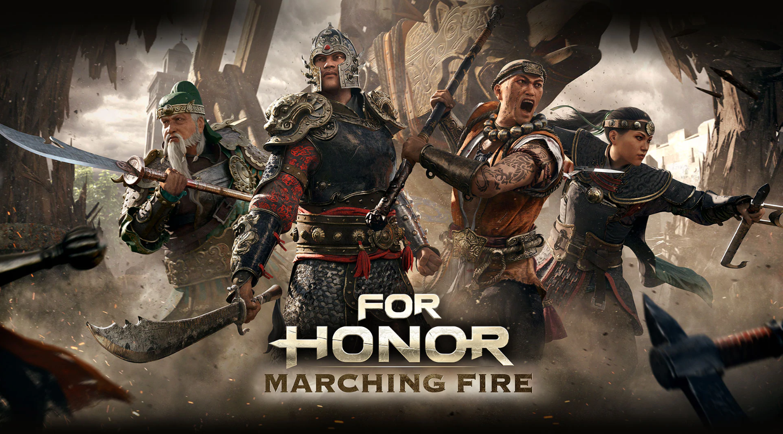 Image result for for honor marching fire