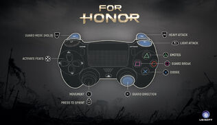 For Honor controller map1