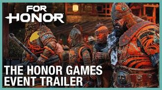 For Honor The Honor Games Event Trailer Ubisoft NA
