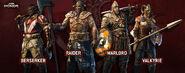 For Honor Berserker Raider Warlord Valkyrie