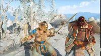 Warrior Meets Horn
