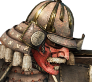 Kensei helm and Menpõ