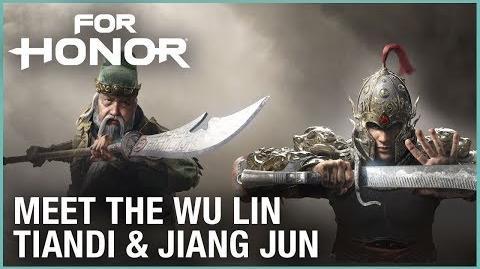 For Honor- Marching Fire - Meet the Wu Lin- Jiang Jun & Tiandi - Livestream - Ubisoft -NA-