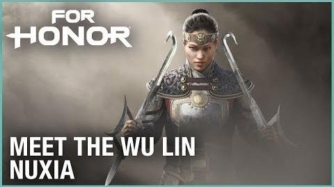 For Honor Marching Fire - Meet the Wu Lin Nuxia Livestream Ubisoft NA