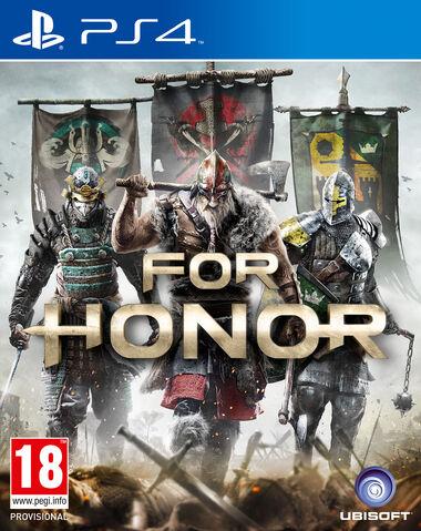 Файл:For Honor Packshot PS4.jpg