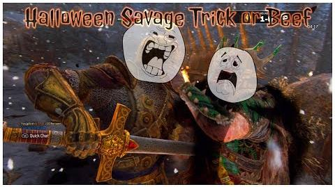 FOR HONOR - Halloween Savage Warden Mind Duel & Brawl Highlights