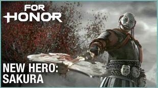 For Honor- Year 3 Season 2 – New Hero, Sakura - Cinematic Reveal Trailer - Ubisoft -NA-