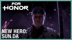 For Honor Year 3 Season 4 - New Hero, Sun Da Cinematic Reveal Trailer Ubisoft NA