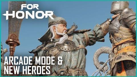 For Honor New Wu Lin Hero Gameplay and Arcade Mode Ubisoft NA