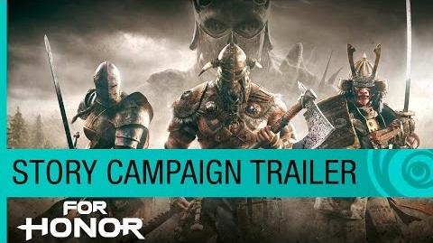 For Honor Trailer Story Campaign Cinematic (4K) - E3 2016 Official US