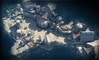 River Fort 2v2 map overview