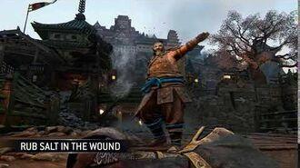 Rub Salt In The Wound (Samurai)