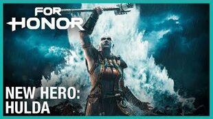 For Honor- Year 3 Season 3 – New Hero, Hulda - Cinematic Reveal Trailer - Ubisoft -NA-