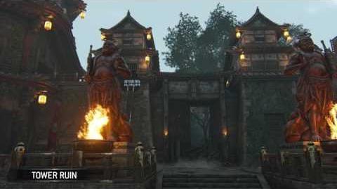 For Honor- Tower Ruins - Samurai
