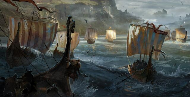 File:Vikings approaching the coast.jpg