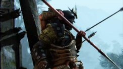 Reconnaissance - samurai make good shields for arrows