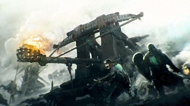 Файл:For Honor ca CatapultAction E3.jpg