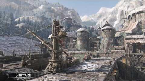 For Honor- Shipyard - Vikings